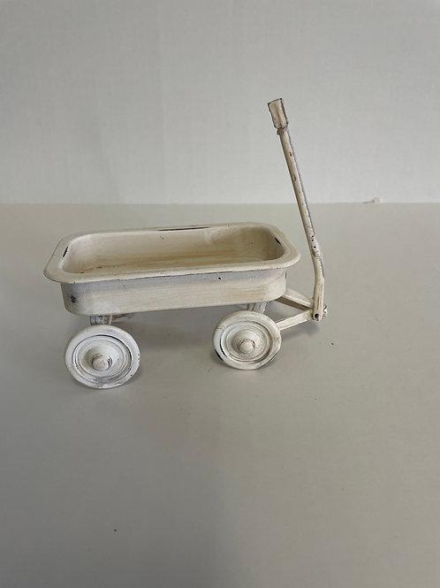 White Doll Wagon