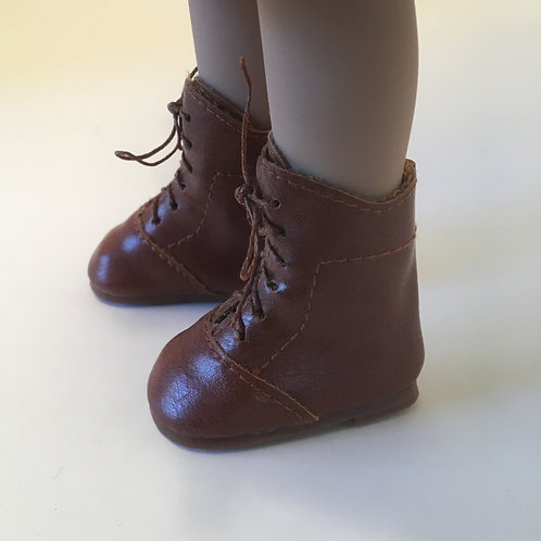 LD Dark Brown Lace up Boot