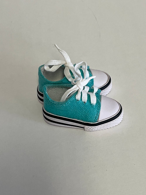 LD Turquoise Tennis Shoes