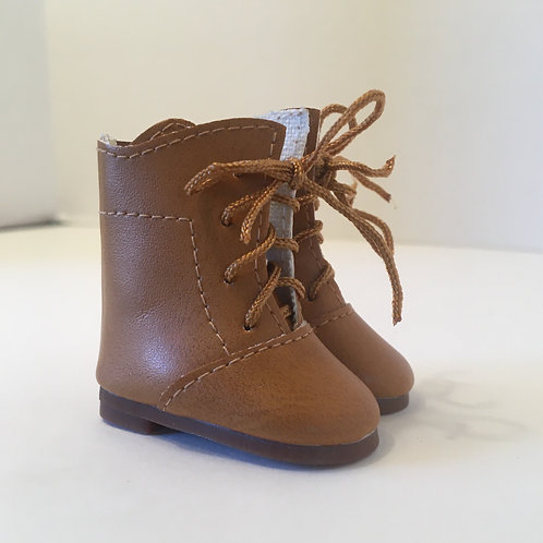 LD Light Brown Lace up Boot