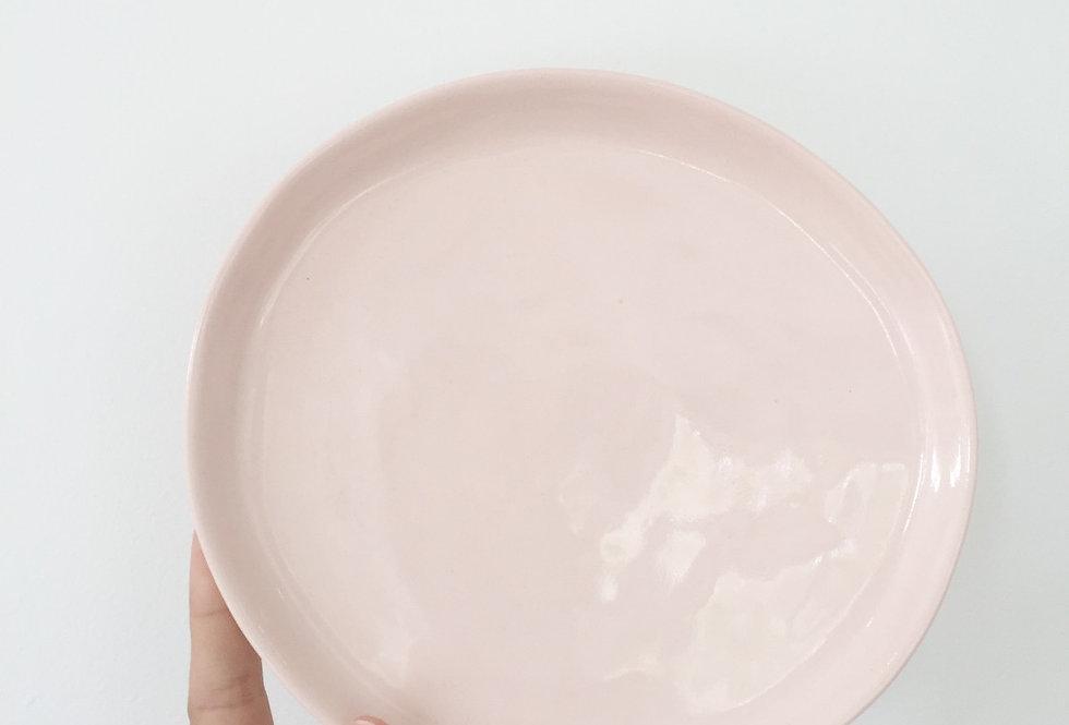 small (bread) plate- blush