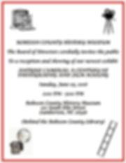 Event infomation: Antique Cameras Reception