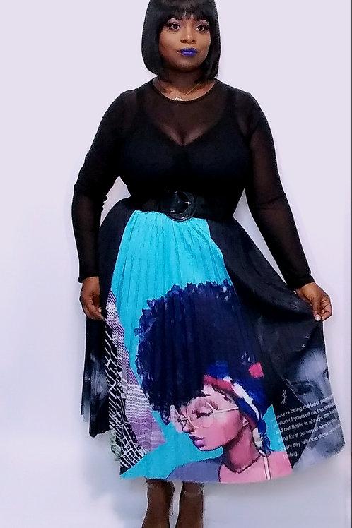 Black Girlz Rock Maxi Skirt