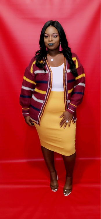 Bailey Sweater - burgundy