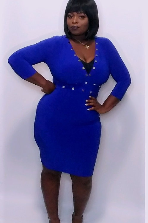 Stahr Studded Midi Dress