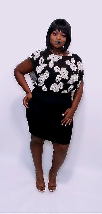 Bodice Combination Dress