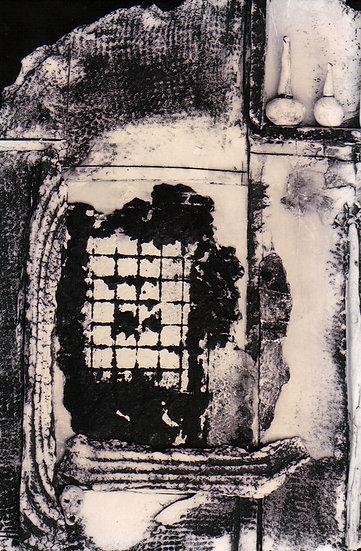 Torn curtain (detail)