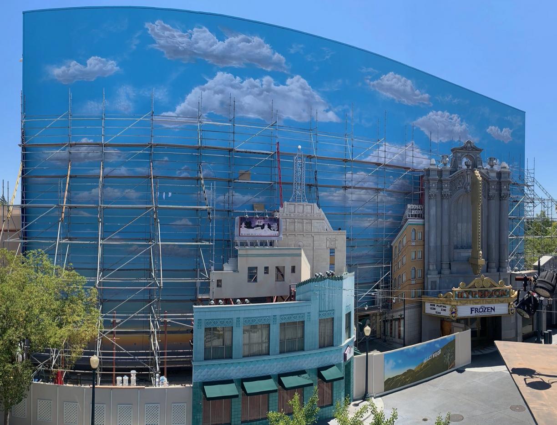 Hyperion Cloud Mural