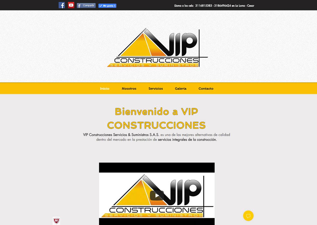 VIP CONSTRUCCIONES - COLOMBIA