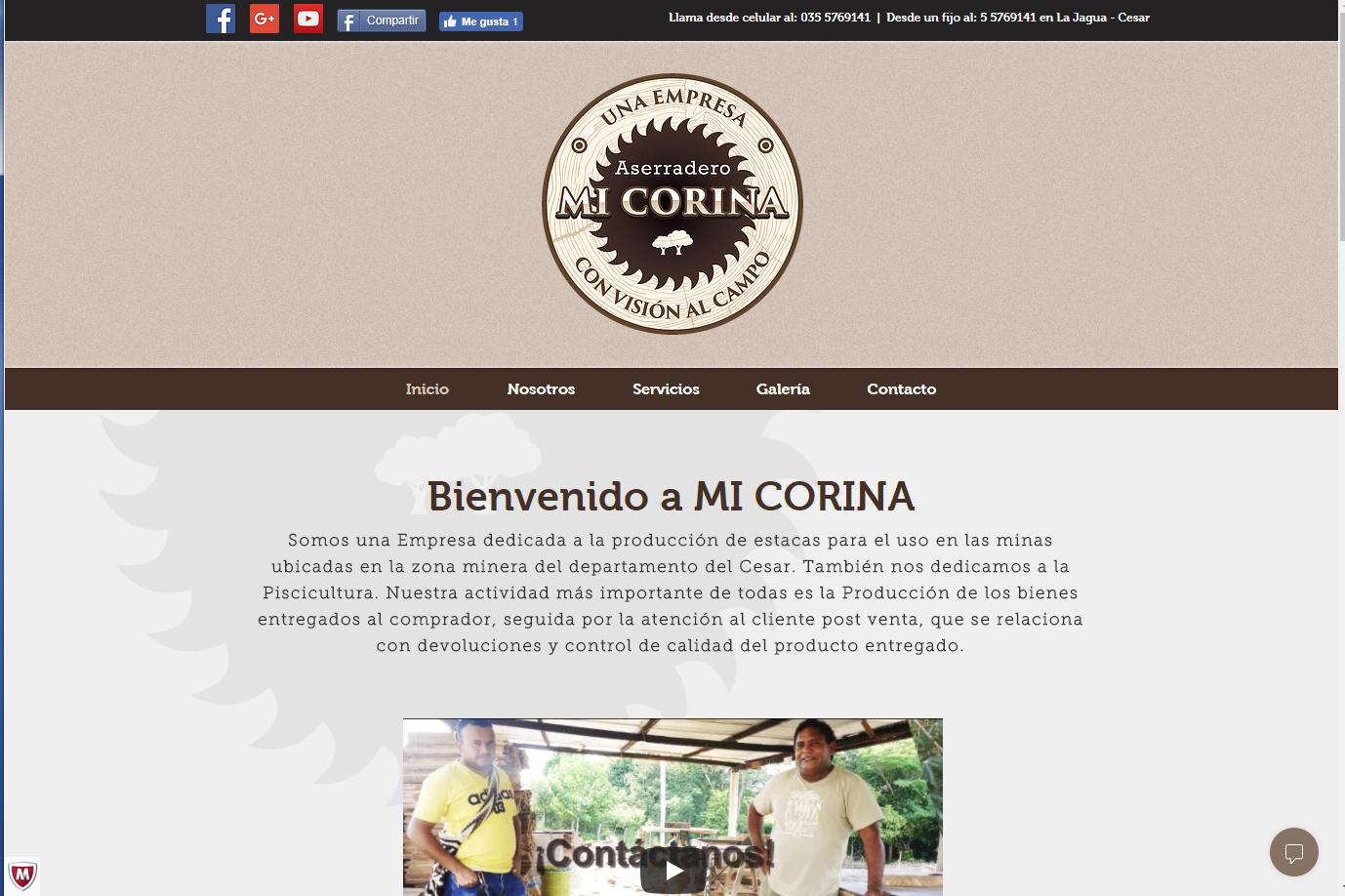 MI CORINA - COLOMBIA