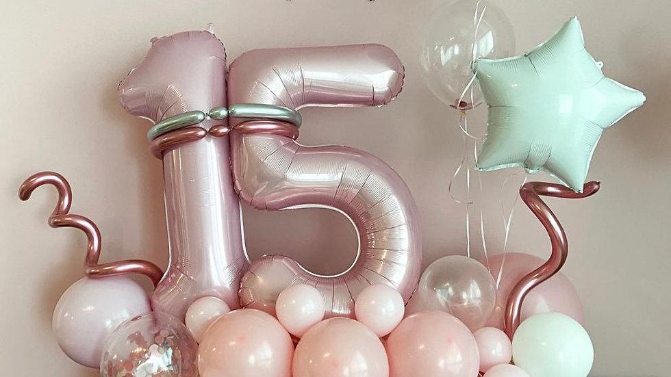 15years Balloons