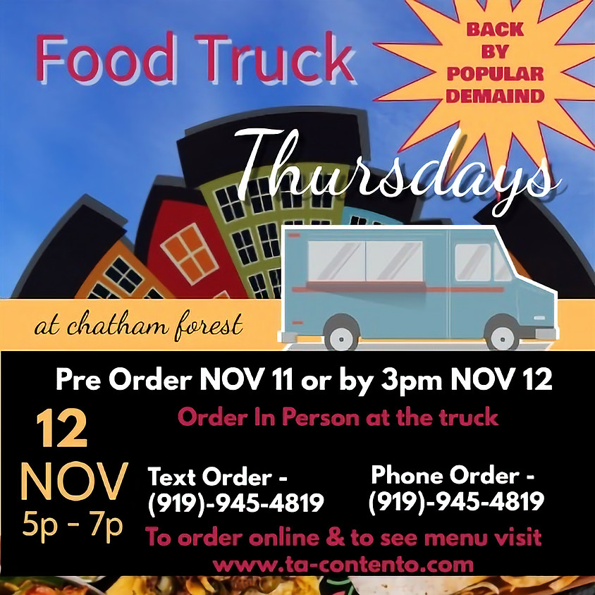 Ta Contento Food Truck