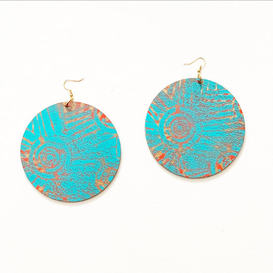 MUDURA PATTERNED EARRINGS (Click for additional colors)