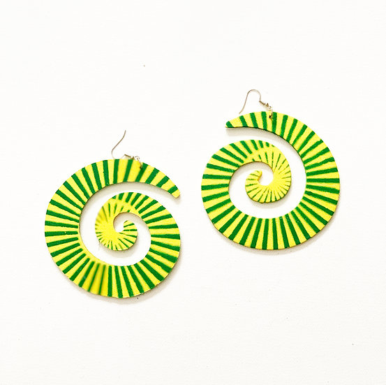 INFINITY BURST EARRINGS  (Click for additional colors)