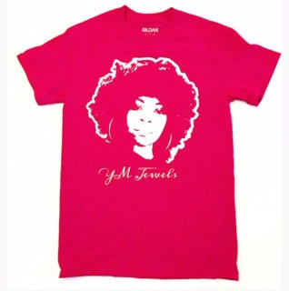 YM JEWELS RED T-SHIRT