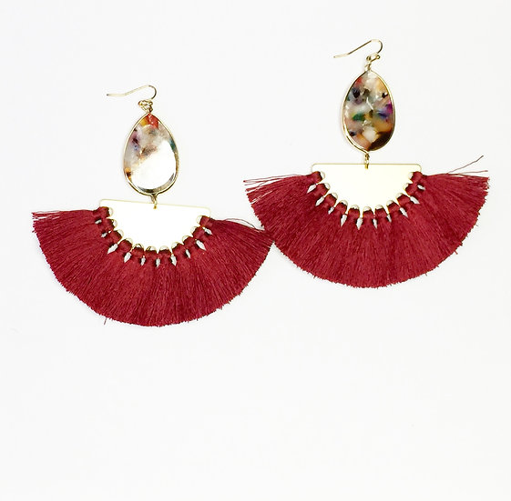 JAHI FAN EARRINGS