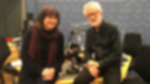 Marina Frolova Walker with Donald Macleod, recordig Composer of the Week fr BBC Radio 3