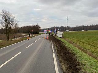 H3 Verkehrsunfall LKW/Bus