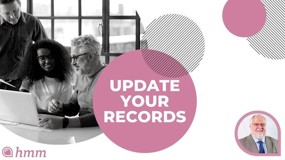 October 15th | Update Your Records | Solo Start Up | Clear & Simple Financial Calendar