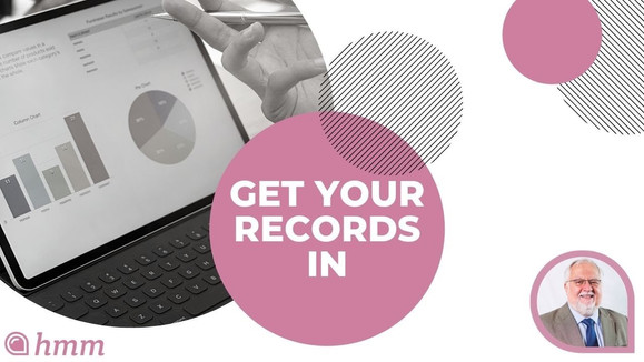 August 31st | Get Your Records In | Solo Start Up | Clear & Simple Financial Calendar