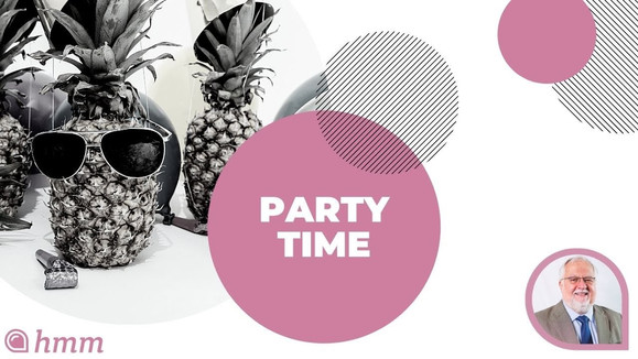 June 30th | Party Time | Solo Start Up | Clear & Simple Financial Calendar