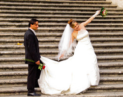 Spanish steps wedding 06_iPad