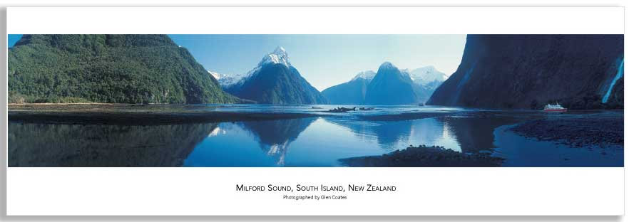 Milford Sounds mini poster