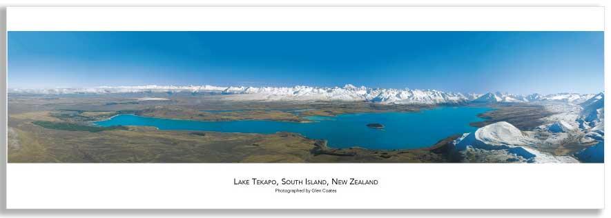 Lake Tekapo mini poster