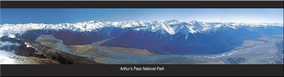 Arthur's Pass National Park magnet