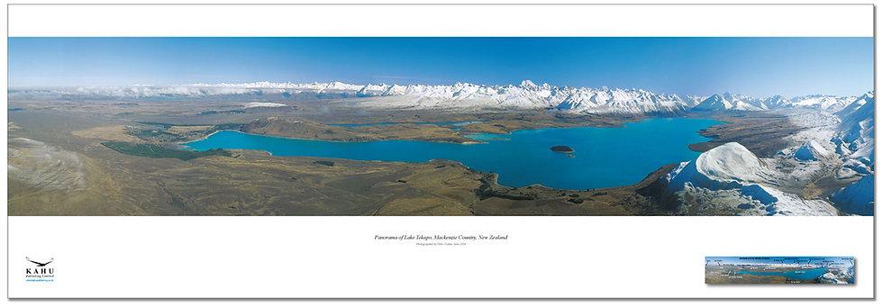 Lake Tekapo, Mackenzie Country poster
