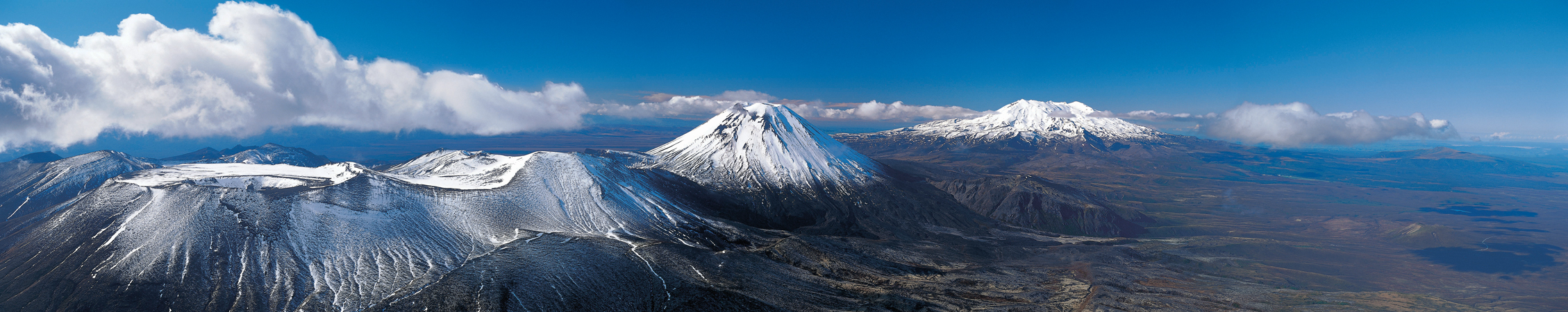 Tongariro National Park panorama