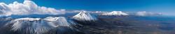 Tongariro National Park panorama