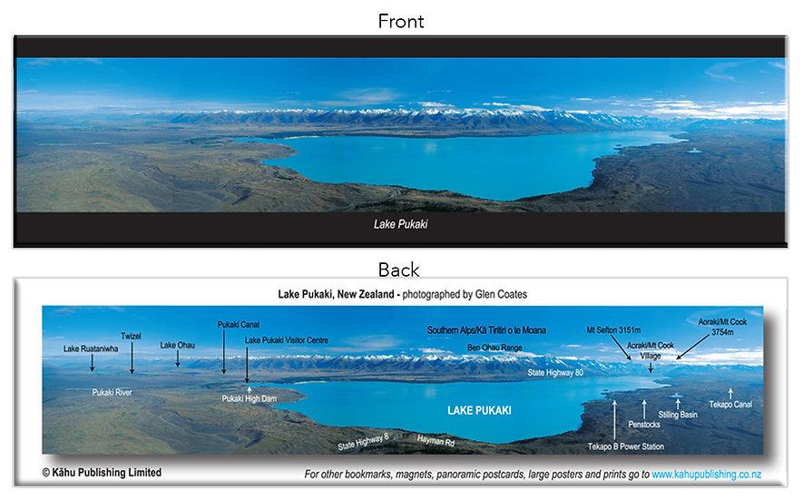 Lake Pukaki bookmark