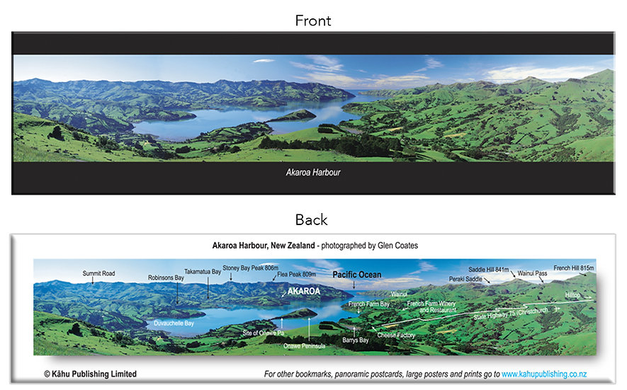 Akaroa Harbour bookmark