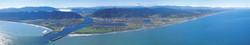 Greymouth panorama