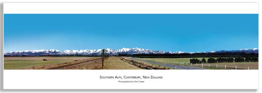 Canterbury Plains mini poster