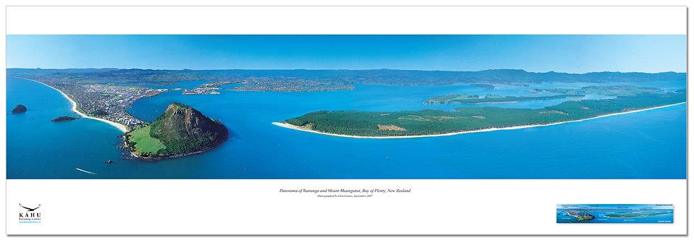Tauranga and Mount Maunganui, poster