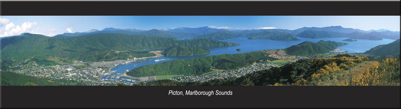 Picton, Malborough Sounds magnet