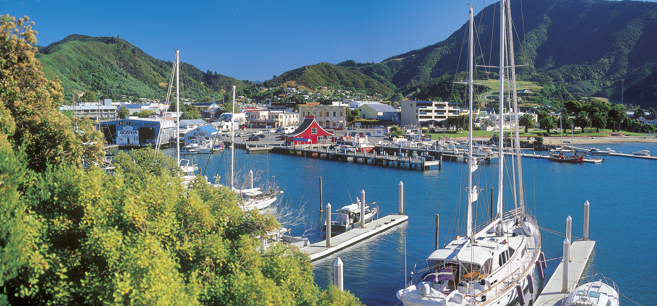 Picton Harbour (click to enlarge)