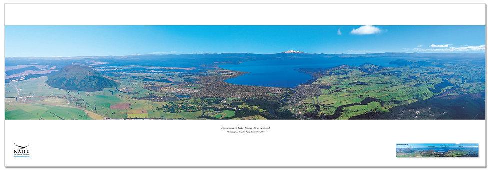 Lake Taupo poster