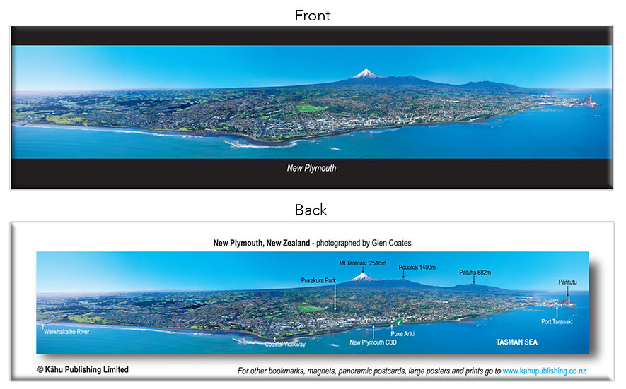 New Plymouth bookmark