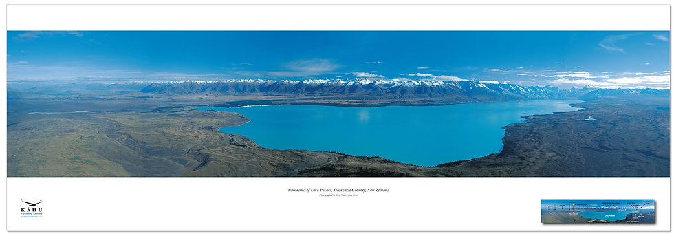 Lake Pukaki poster
