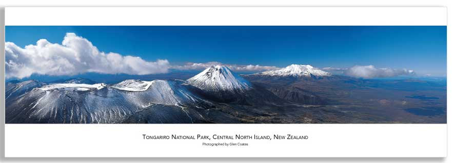 Tongariro National Park mini poster