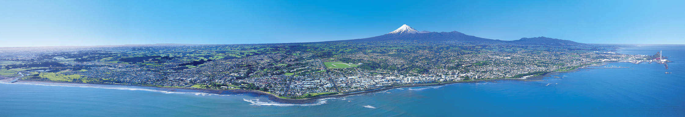 New Plymouth panorama