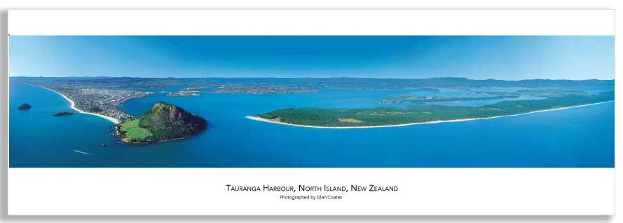 Tauranga & Mount Maunganui mini poster
