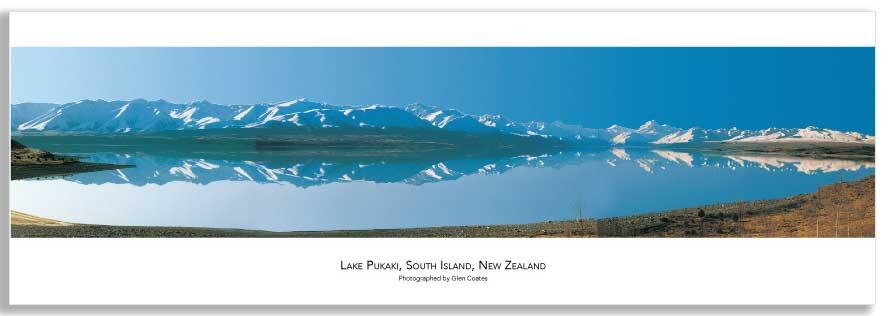 Lake Pukaki mini poster