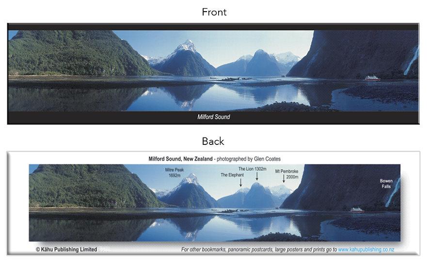 Milford Sound bookmark