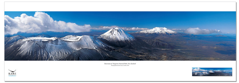 Tongariro National Park poster