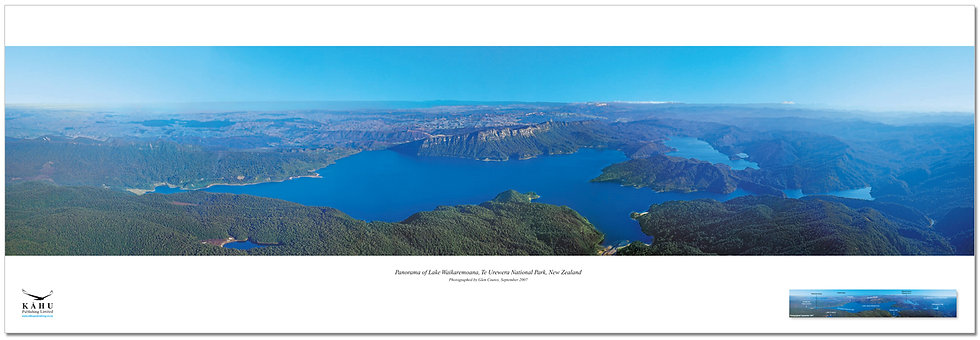 Lake Waikaremoana poster