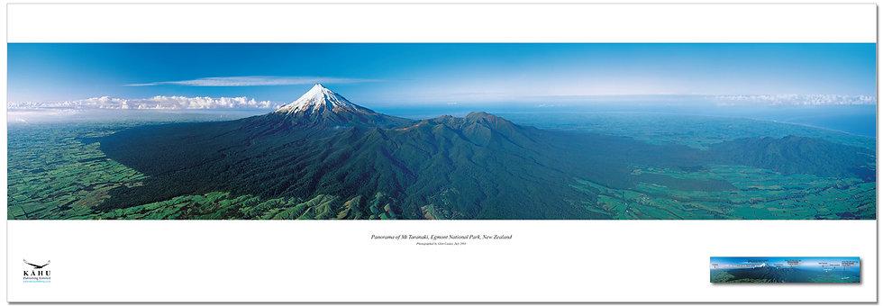 Egmont National Park, Mt Taranaki poster